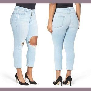 NEW Good American Good Cuts High Rise Jeans